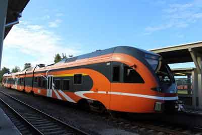 エストニアの電車