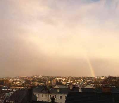 ブライトンの虹