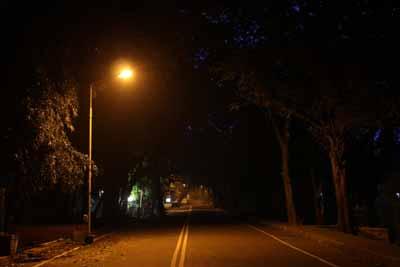 インドの夜